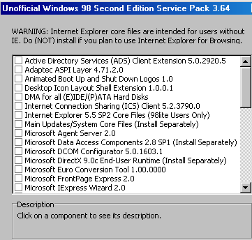 Windows 98SE on VirtualBox (with video and audio drivers) (updated
